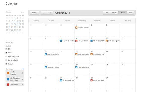 HubSpot Calendar