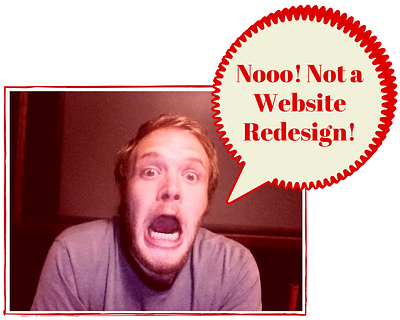 Scary Website Redesign