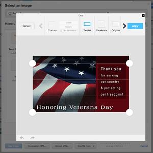 HubSpot Image Editor- Crop