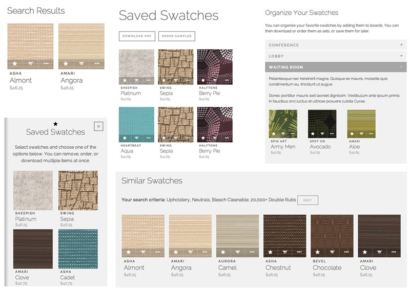 swatch component example