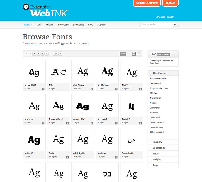 How Do I Decide Which Webfont Service to Use?