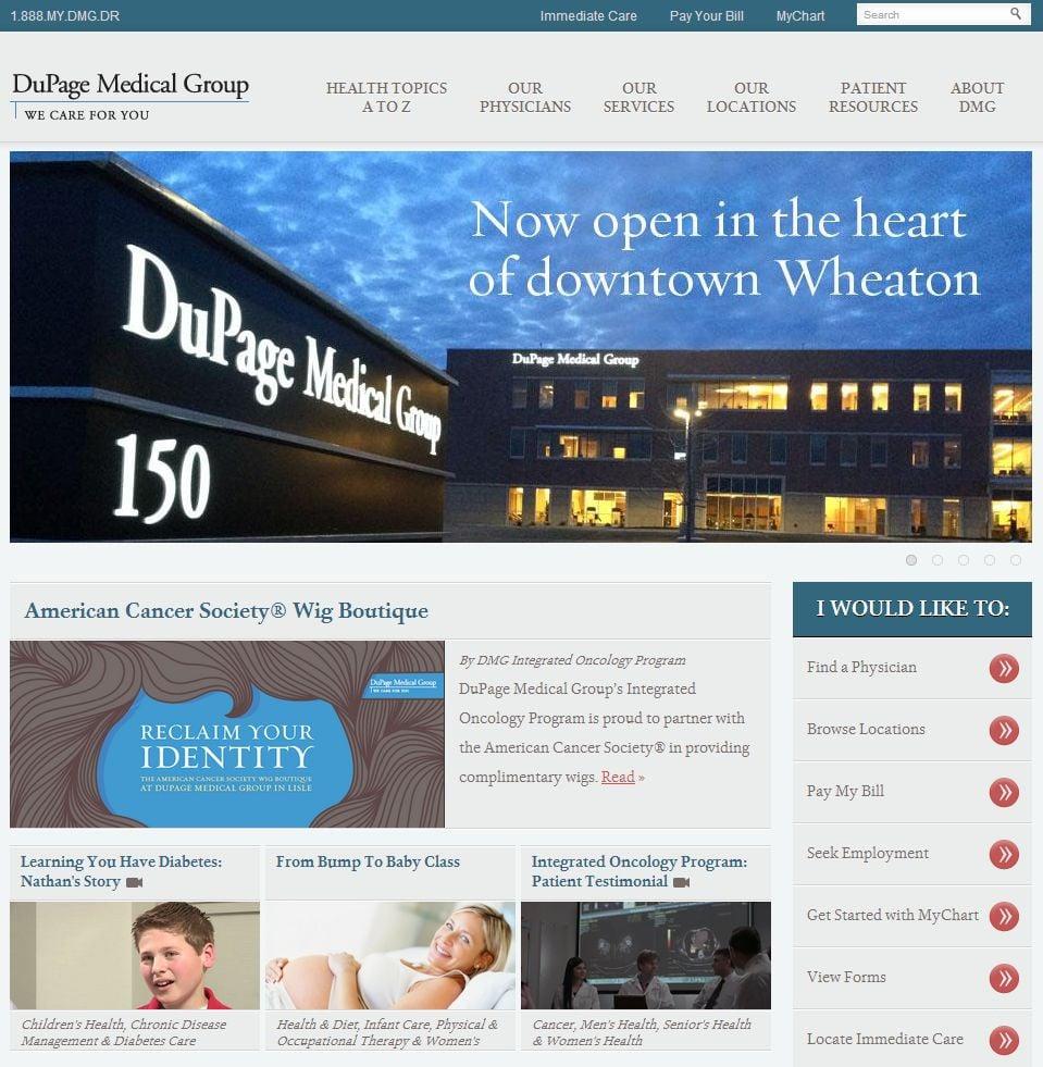 DMG homepage