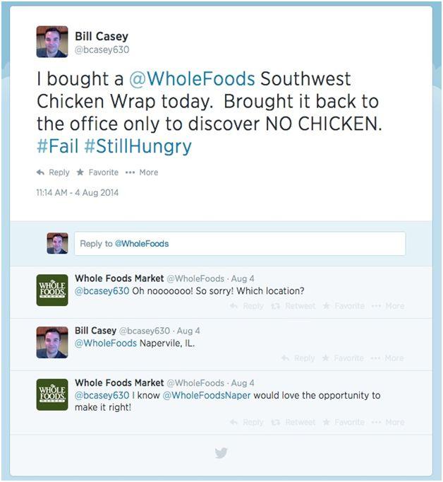 Whole Foods Tweets
