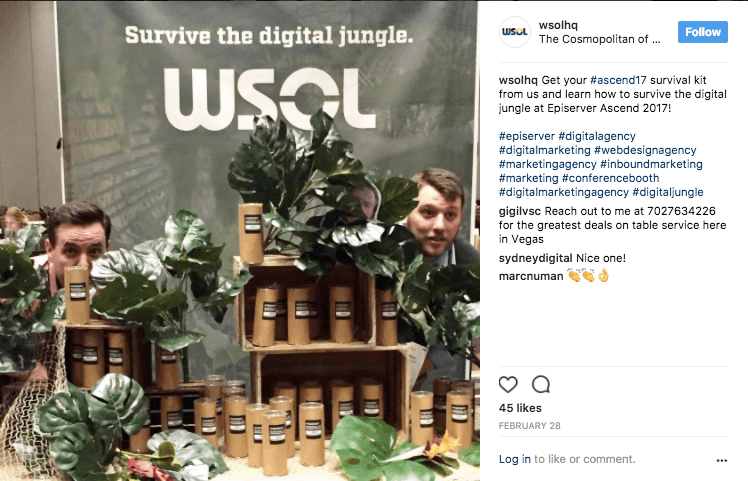 WSOL's Digital Jungle Booth and Swag