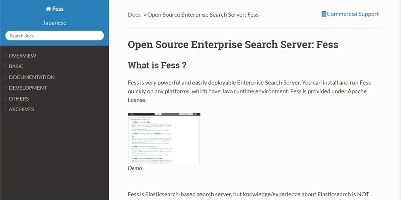 FESS Open Source Enterprise Search Server