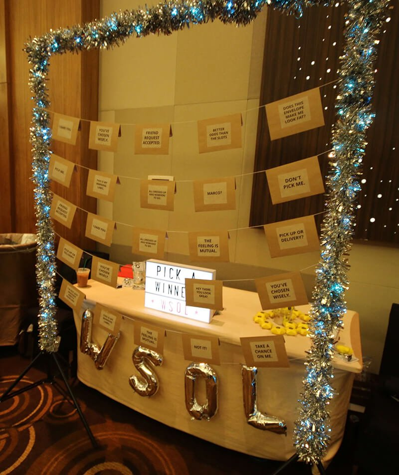 The WSOL booth