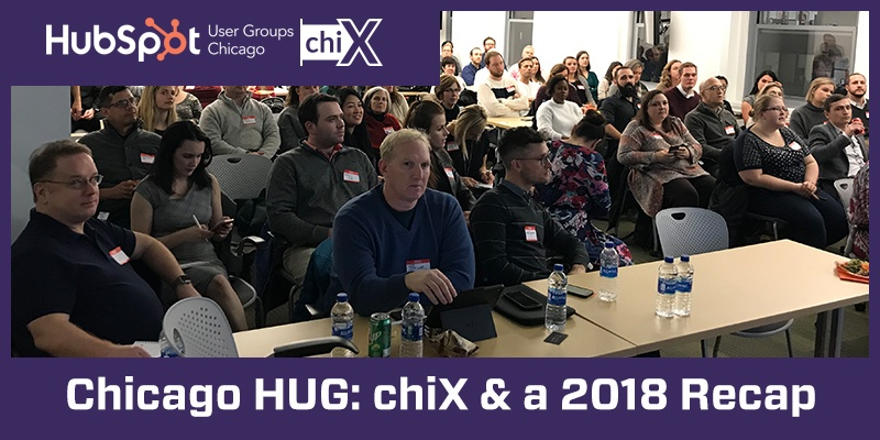 Chicago HUG: chiX & a 2018 Recap
