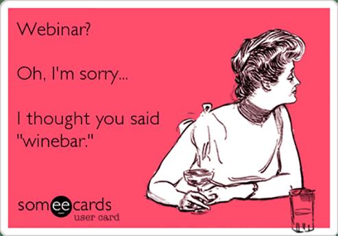 winebar/webinar