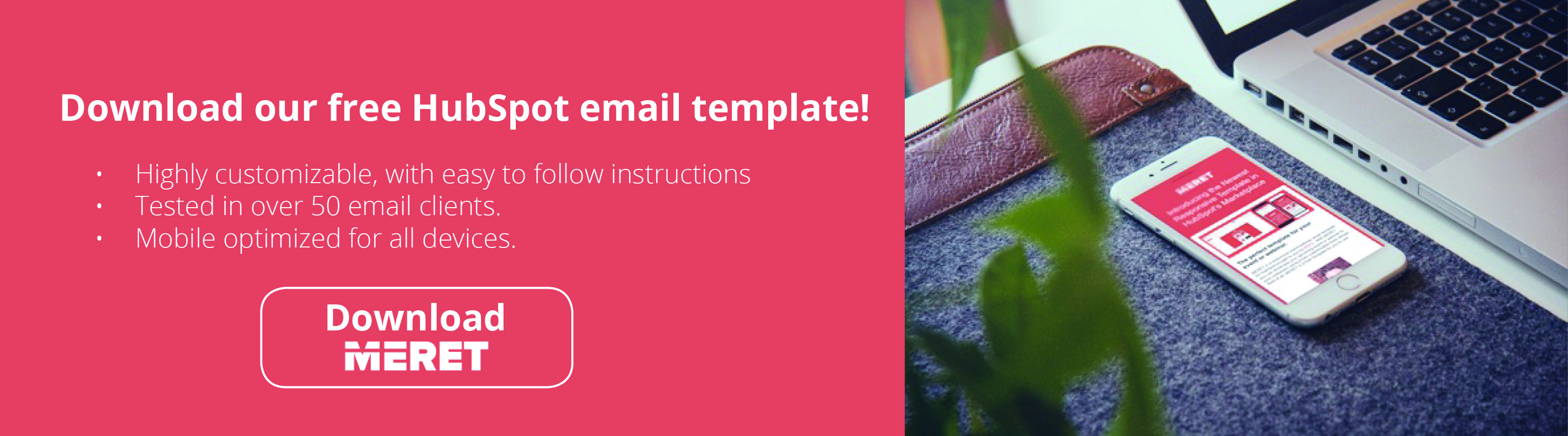 Download our free HubSpot email template!