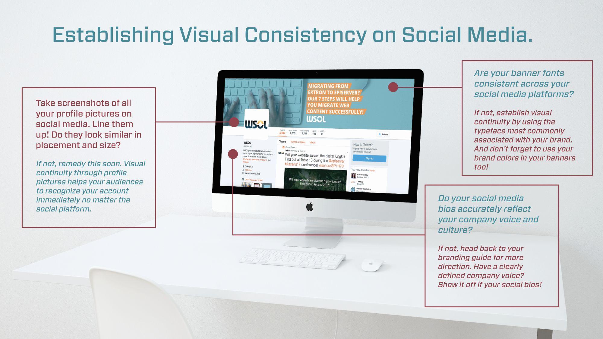 Establishing Visual Continuity on Social Media