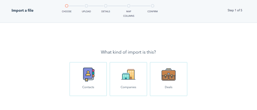 HubSpot File Import