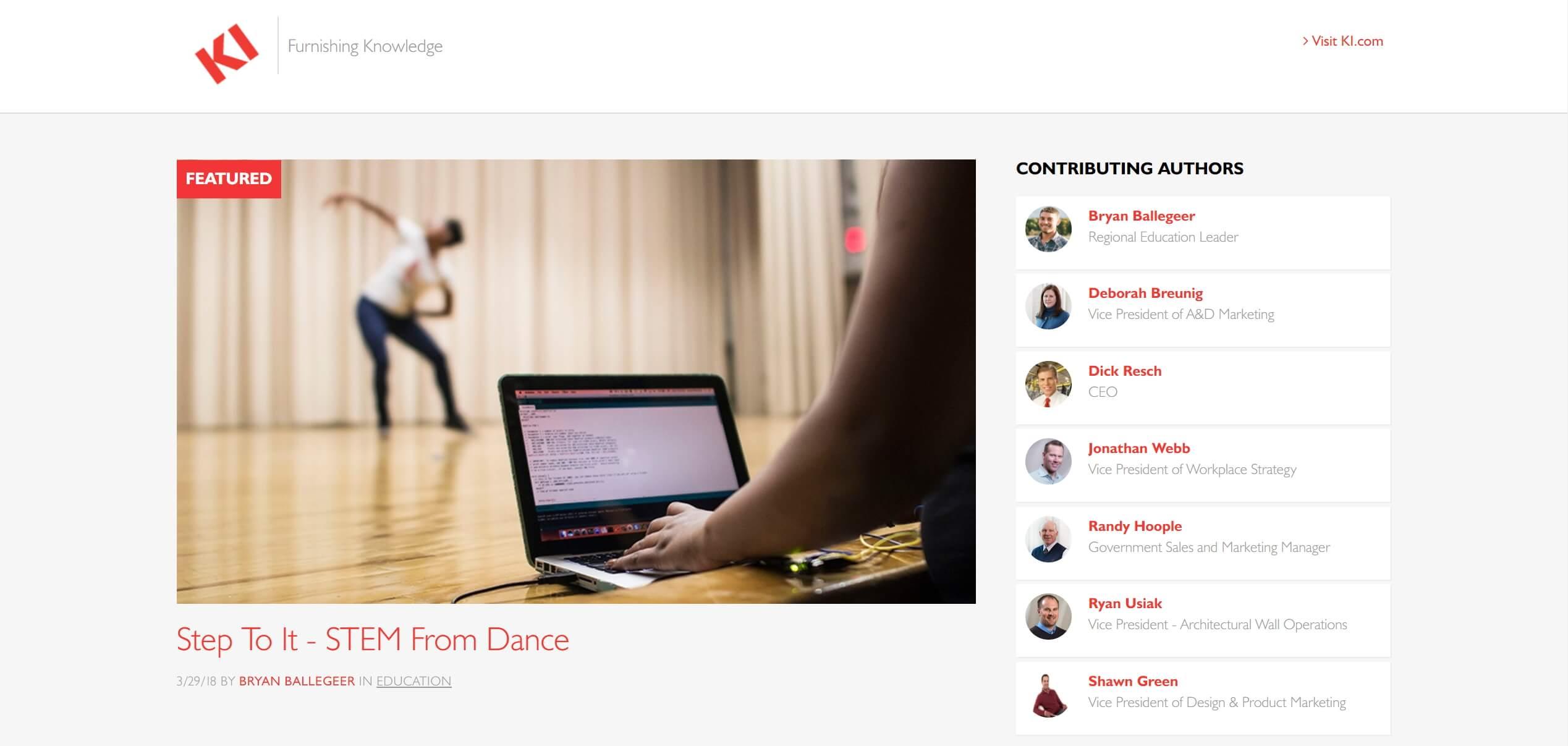KIblog-homepage