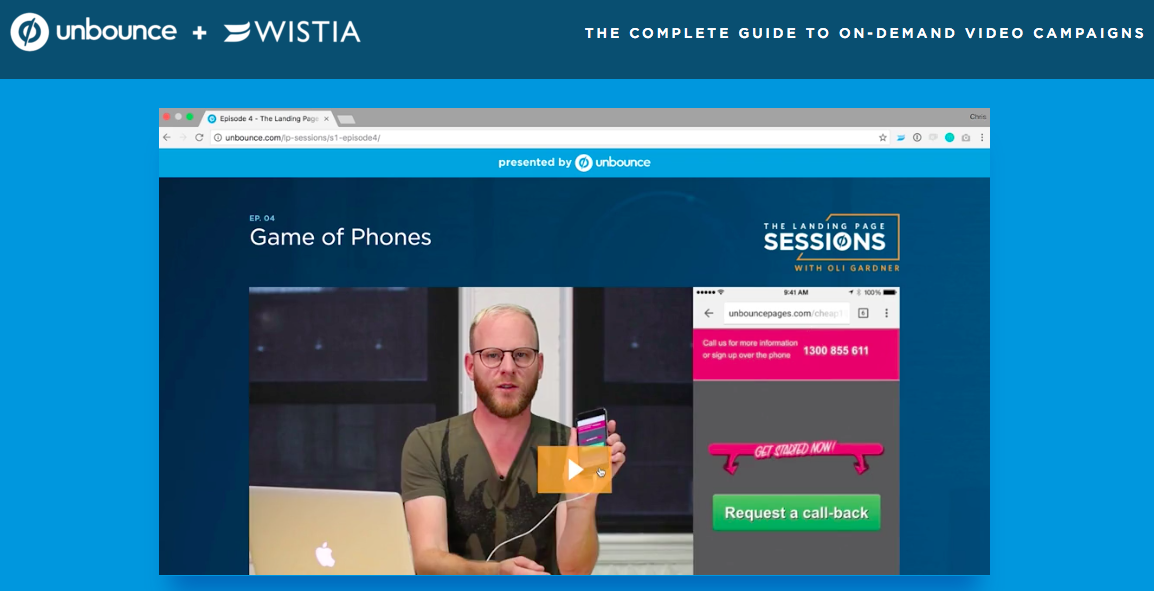 wistia and unbound partner for great resource on video marketing