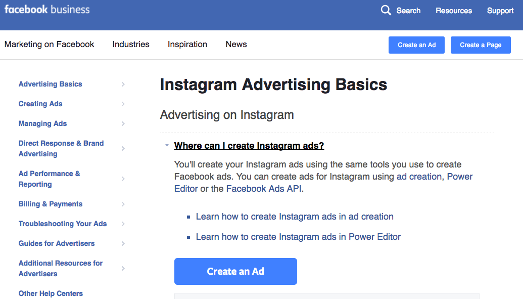Do you advertise on Instagram using your Facebook Ads account?