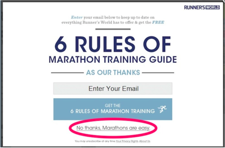 Email tactics to avoid
