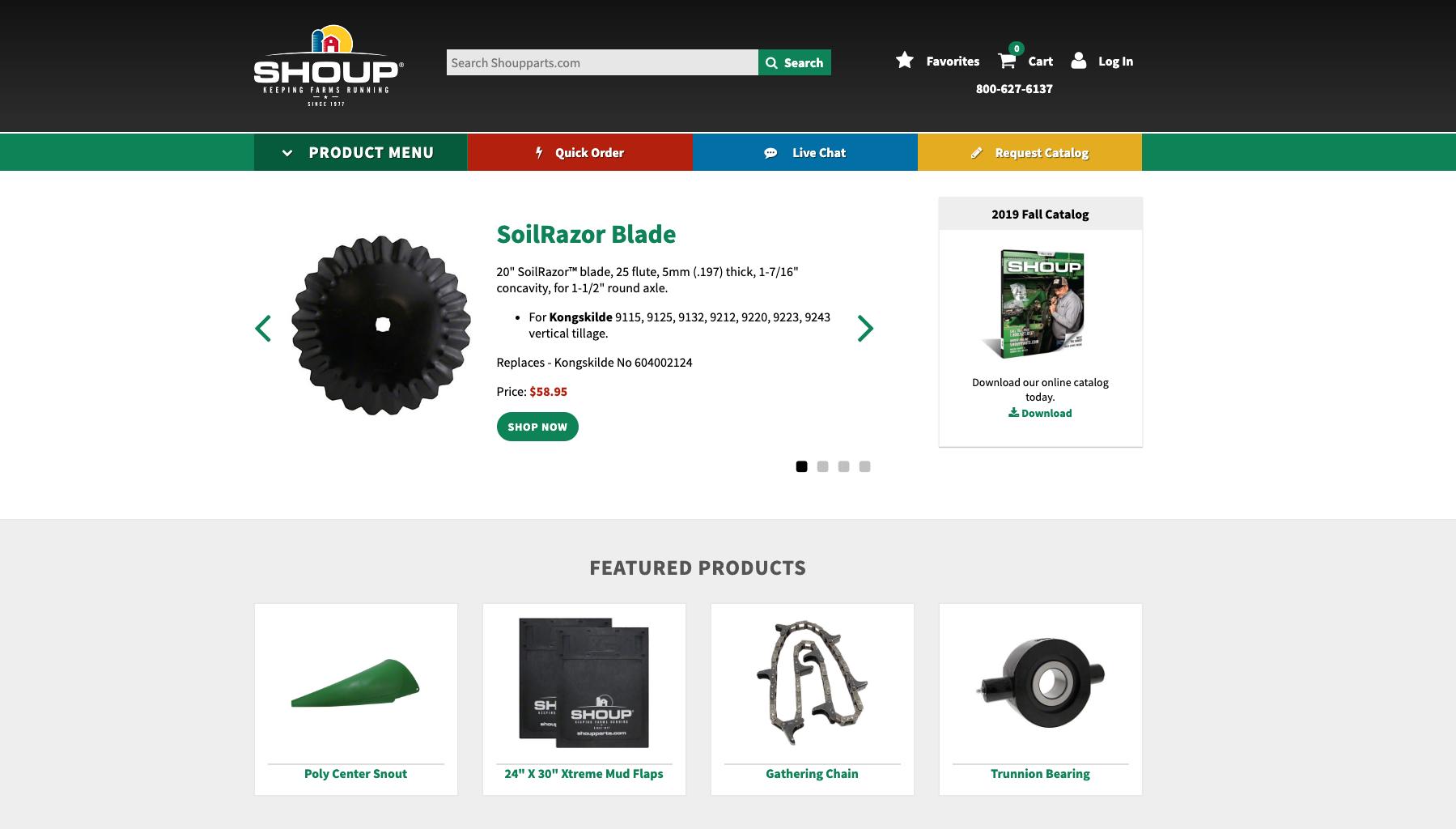 Shoup Website