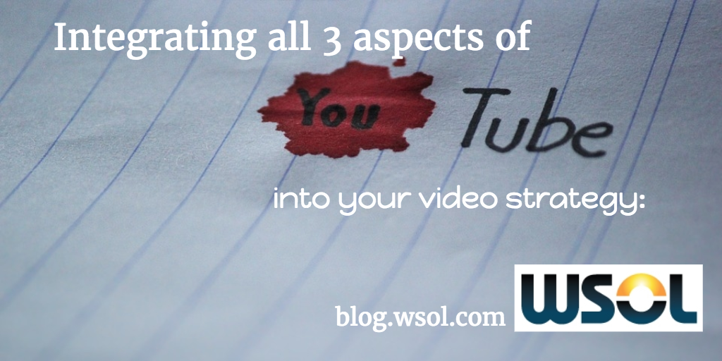 Integrating 3 aspects of YouTube into video strategy