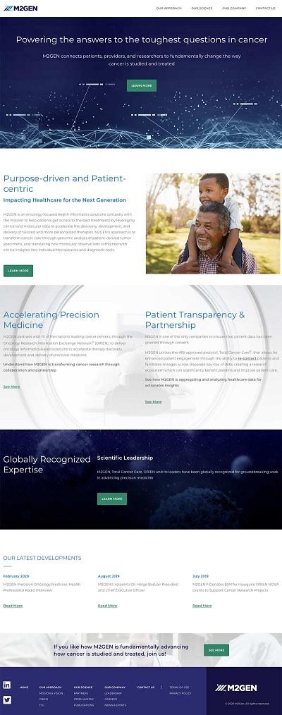 M2Gen Homepage